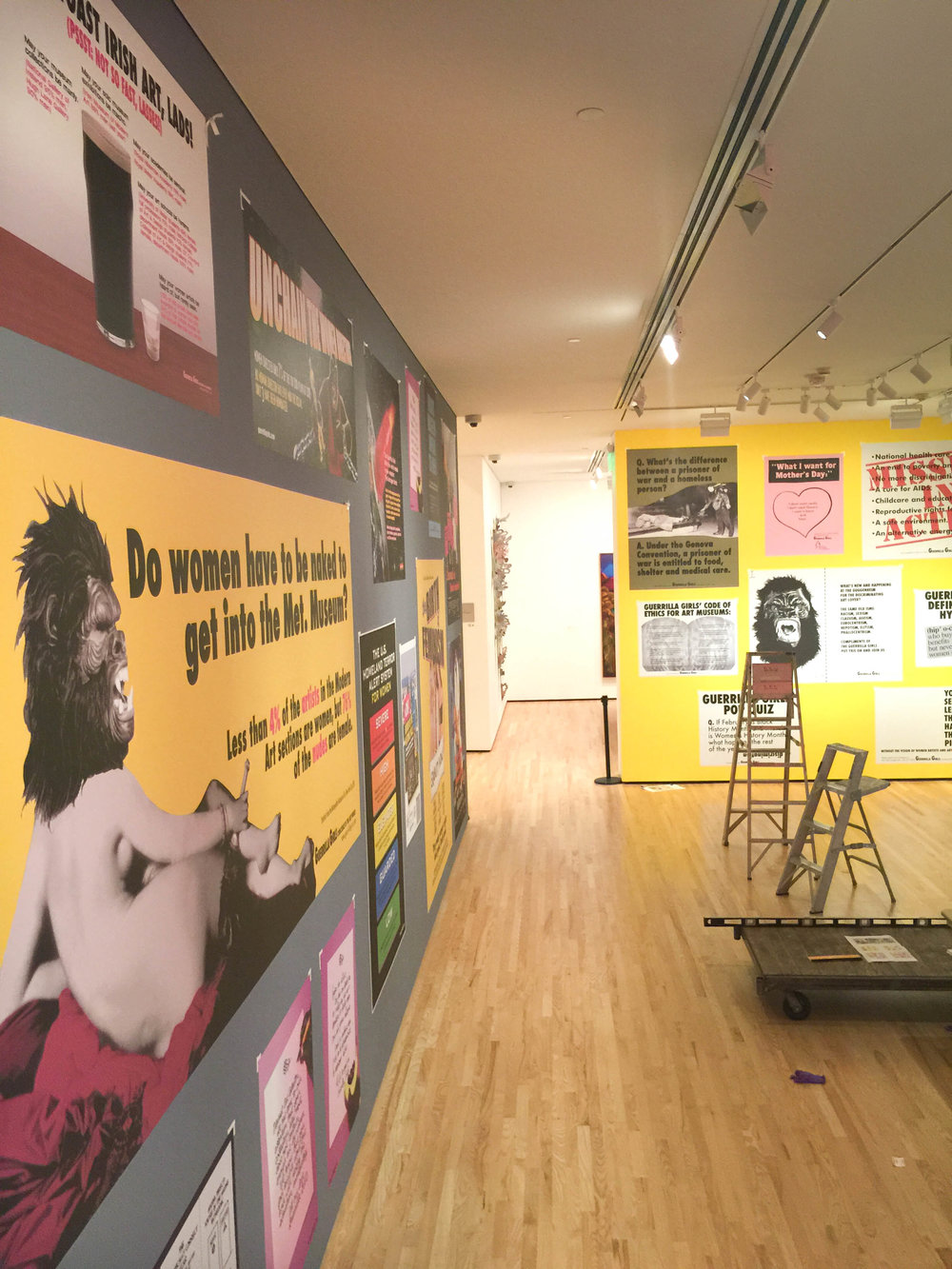 Baltimore Museum of Art - Guerrilla Girls Exhibit