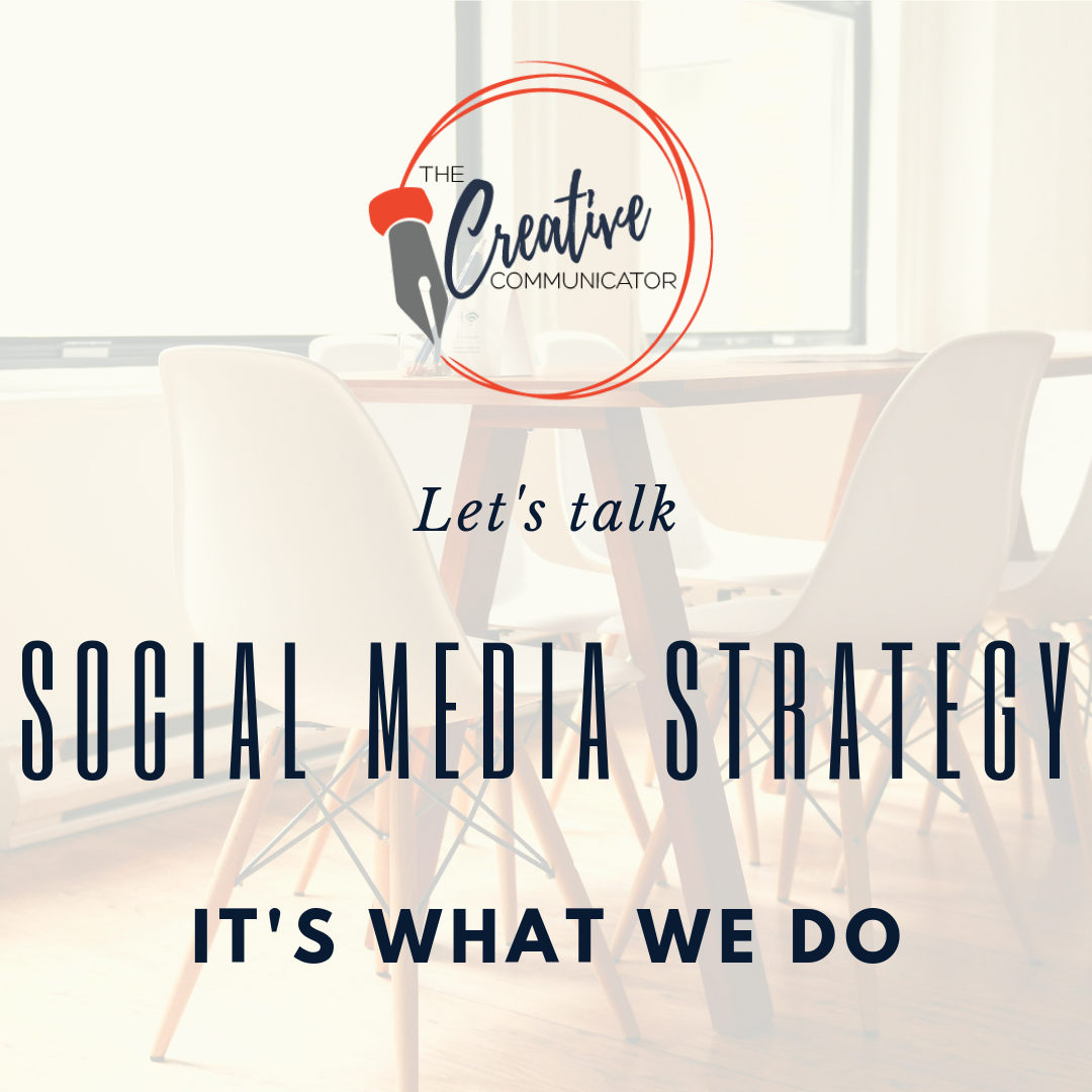 Social Media Strategy Are You The One The Creative Communicator