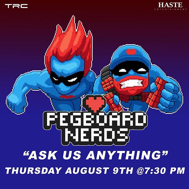 "@hasteentertainment x @torontoravecommunity present an edition of AMA ""Ask Me Anything"" with @pegboardnerds this Thursday at 7:30PM EST! Tune into their Facebook group and ask away!"