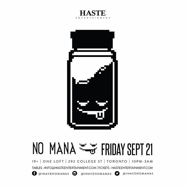 JUST ANNOUNCED: @ihavenomanas coming to @oneloftto on September 21st! Tickets are on SALE NOW! Ticket link in our bio