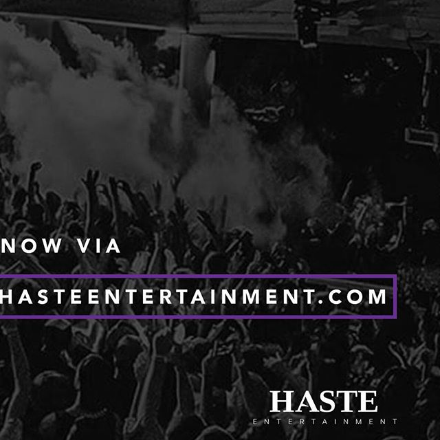 BACKSTAGE passes, FREE tickets, and extra MONEY in your pocket? Interested?! Apply now for our @hasteentertainment brand ambassador program via hasteentertainment.com/brandambassador