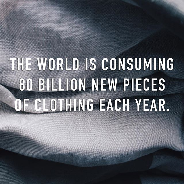 Altre works with found materials so we don't contribute to fashion industry waste🙌🏼 The world is consuming about 80 billion new pieces of clothing each year. This is 400% more than our consumption just two decades ago #outtacontrol We're trying to counteract that unnecessary waste by updating and repairing pieces that already exist. We have plenty to work with and you have plenty to shop. Check out your local thrift store this week. There are literally billions of options out there, lightly loved and waiting for you 💫