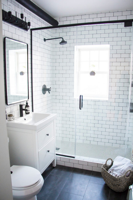 Storage Ideas for Small Bathrooms by Homease - the blog with one thing in mind: to inspire, empower, and encourage everyone to create a home they LOVE.