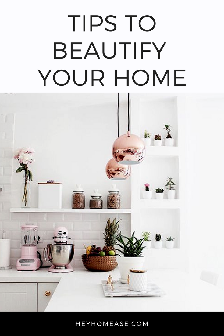There's no place like home, so why not make home the most beautiful, cozy place you can? Here are some techniques that can help you showcase the best features of every room in your house. Just a touch of color, texture, and personality can transform your home into something new! Here's a few tips that aren't a lot of hassle.