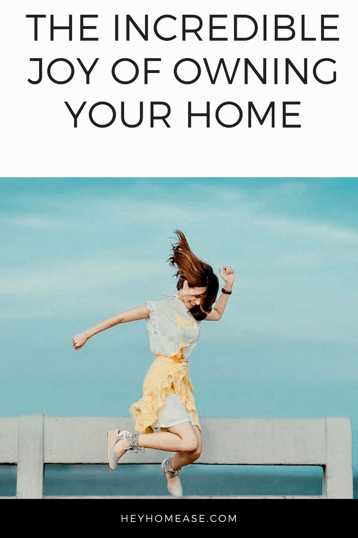 """If you haven't bought a home yet, you're missing out on a wonderful feeling! That moment when you walk through your doors, throw your purse or keys on the floor, plop down on your couch and breathe a sigh of relief while thinking, """"Finally, it's ours (or mine)!"""" And the joy of looking at all of your boxes, getting to roll your eyes about why you buy so much stuff, then giving yourself a moment to take a nap because you worked hard to get here and earned it! Yes, that's a real feeling!"""