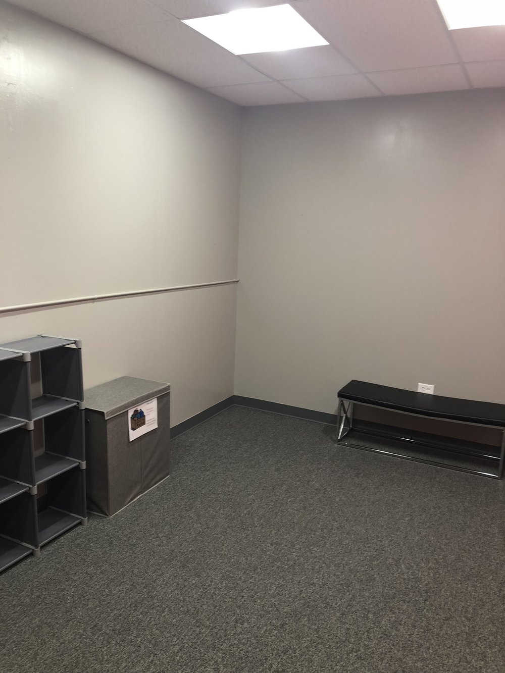 second changing room