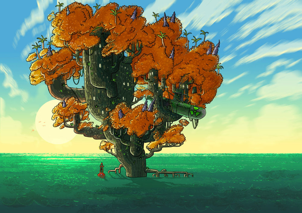 tree_topsy_turvy_tree_cada_macaco_no_seu_galho_logo_52_cinco_dois.png