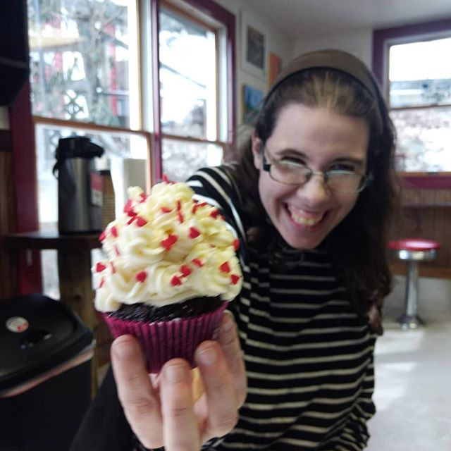 Happiness is... Cupcakes and dancing this Friday