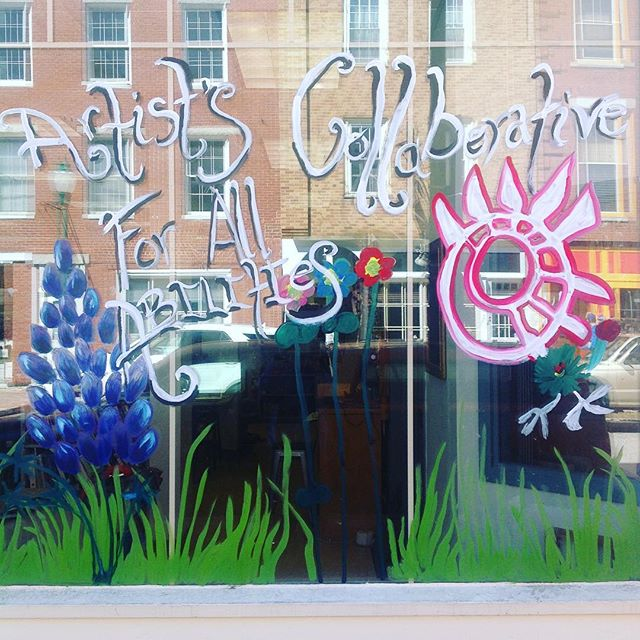 Brightening up Water Street just in time for spring!