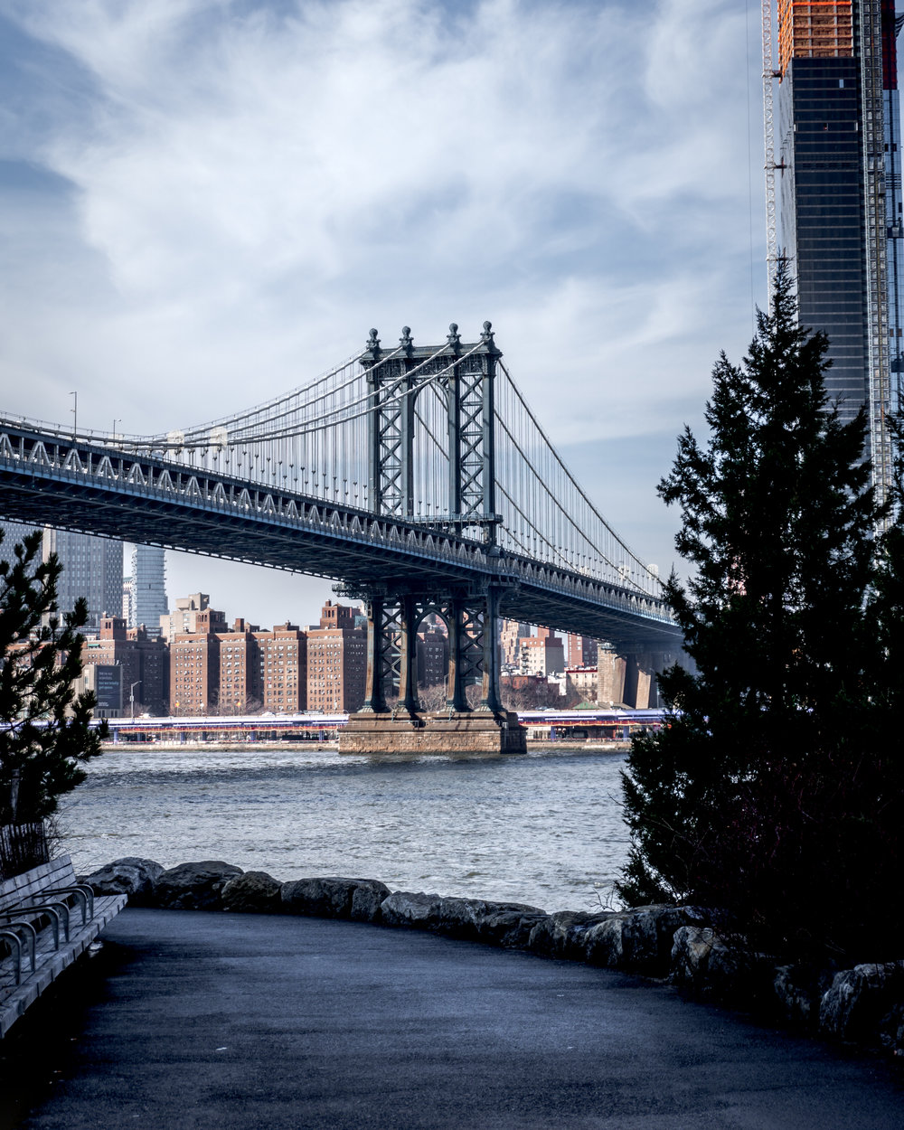 Manhattan Bridge - Brooklyn Bride Park, NY