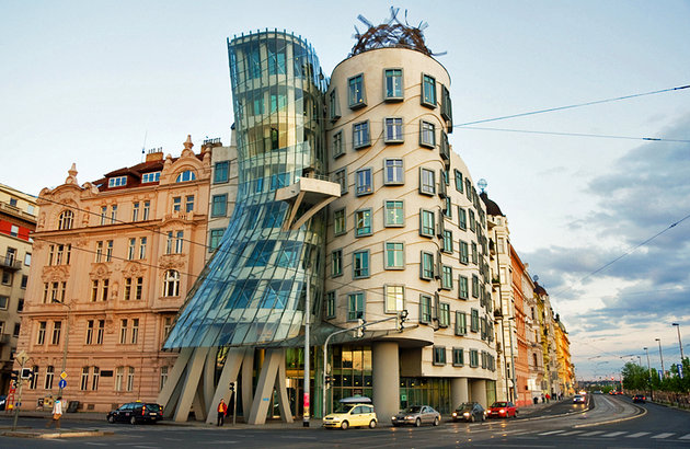 The Dancing House - Prague, Czech Republic