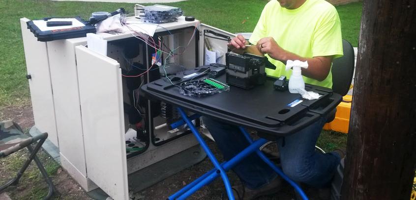 U - Teck: Fiber Splicing Technology