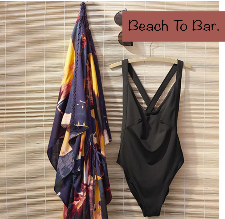 Throw on a beach coverup and you're ready for an afternoon of shopping, bar hopping or swimming. Shop H&M at Calhoun Square.