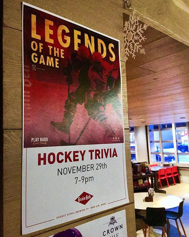 Plans tomorrow? Call and cancel cuz we got HOCKEY TRIVIA goin' on tomorrow night 7-9pm 🍻 Come score some points, win some prizes, and try our NEW MENU!!!! • • • • • #libertine #uptown #minneapolis #calhounsquare #hockey #trivia #uptownfood #uptowndrinks
