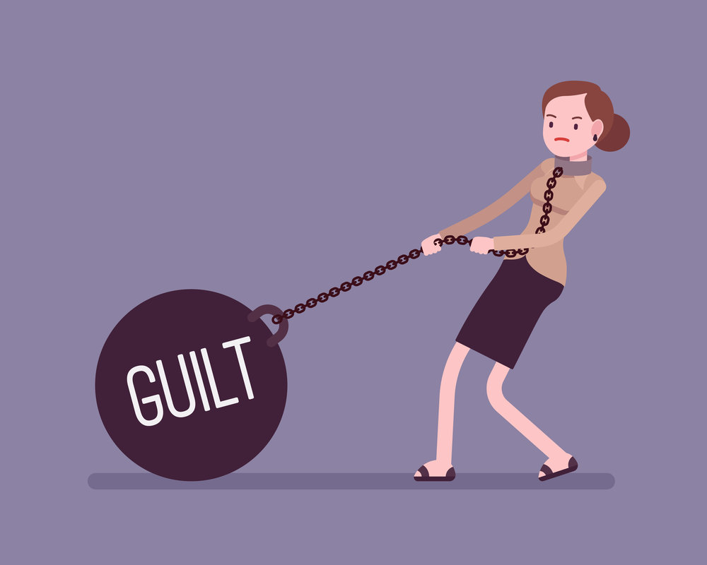 dealing with feelings of guilt
