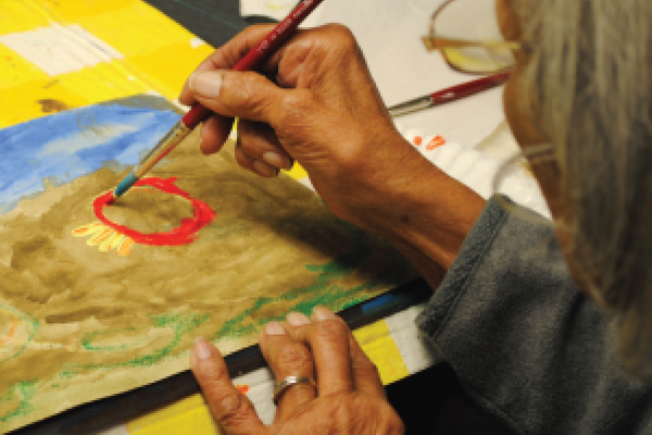 "Alzheimer's Association of Greater Cincinnati ""Memories in the Making""® Art Program."