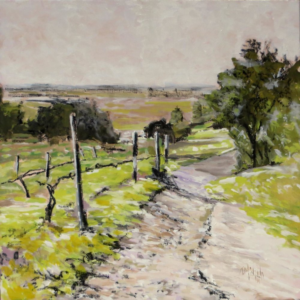 """Old Vineyard Path"" 2017"