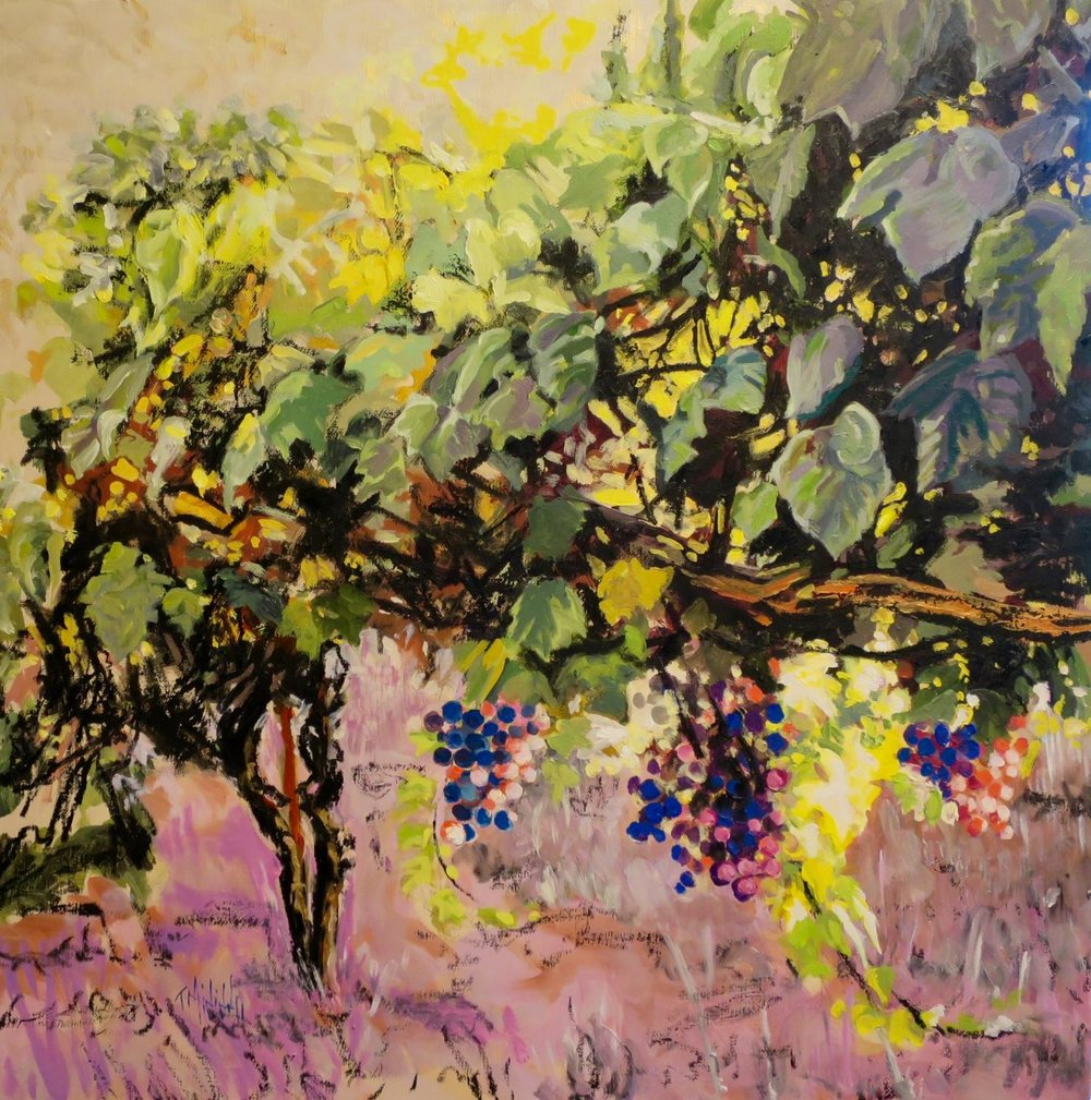 """Vines In The Afterglow"" 2015"