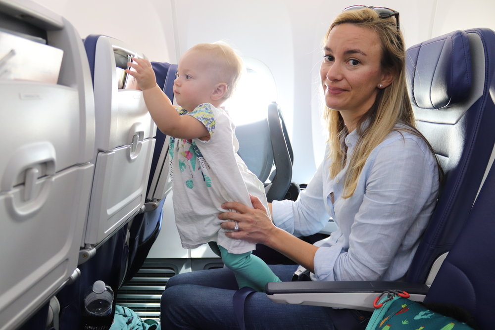 Tarmac time : It can be rough, especially when you're dealing with a toddler.