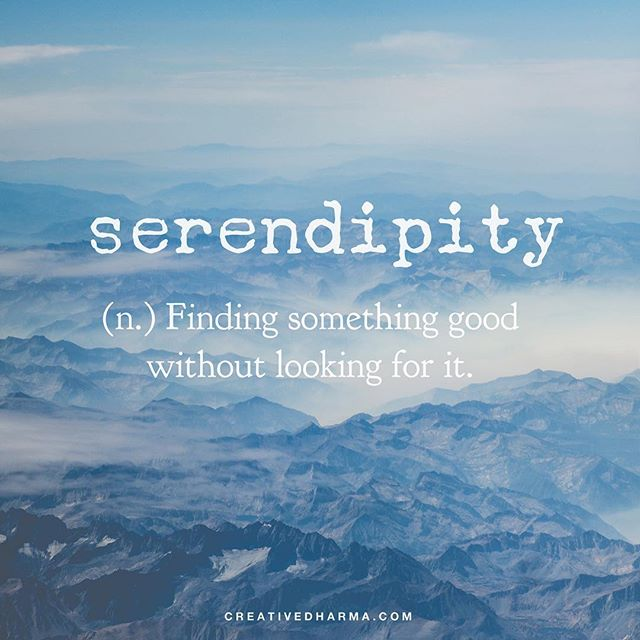 Have a serendipitous day. ❤  #creativedharma #serendipity #loveisloveislove