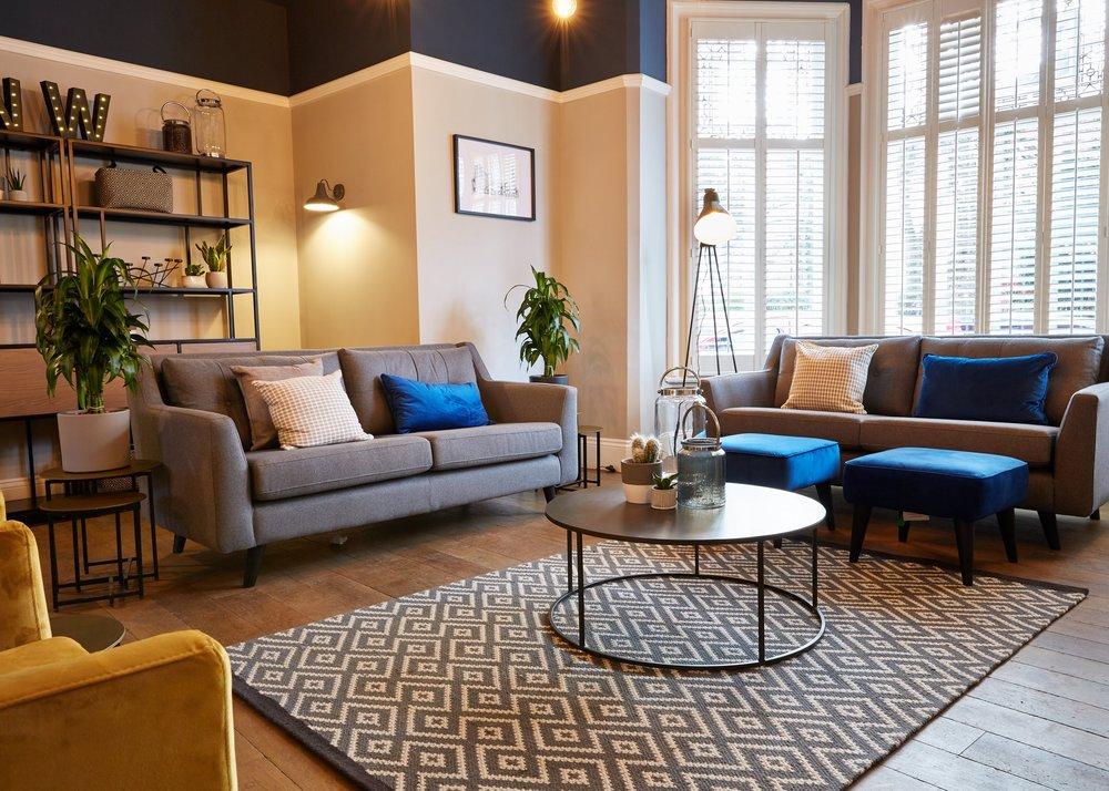 Upper New Walk Living Room
