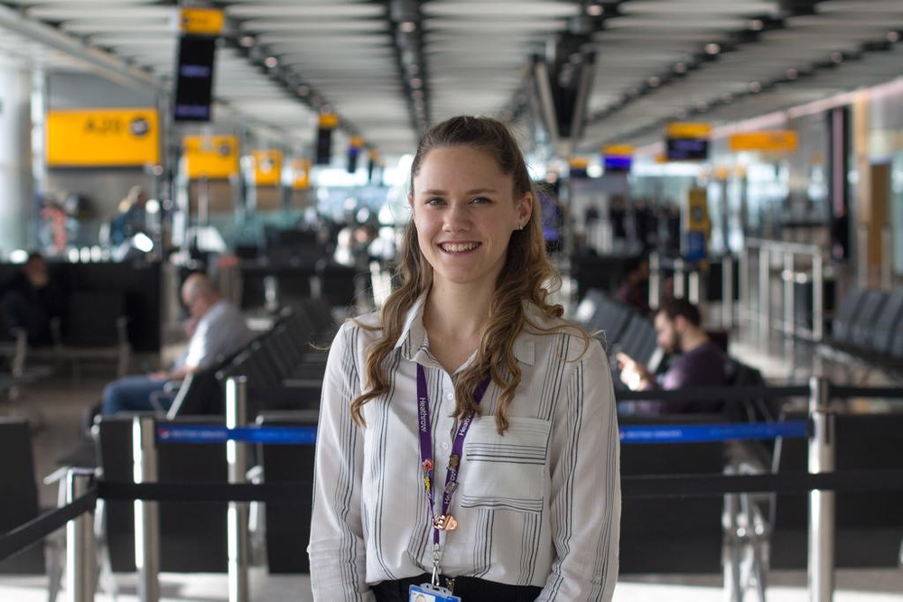 Lana Gilbert, Emerging Talent Specialist, Heathrow