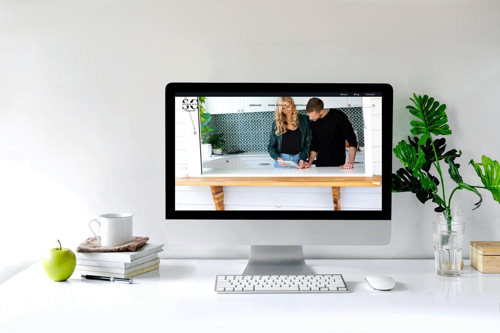 Good home page website design