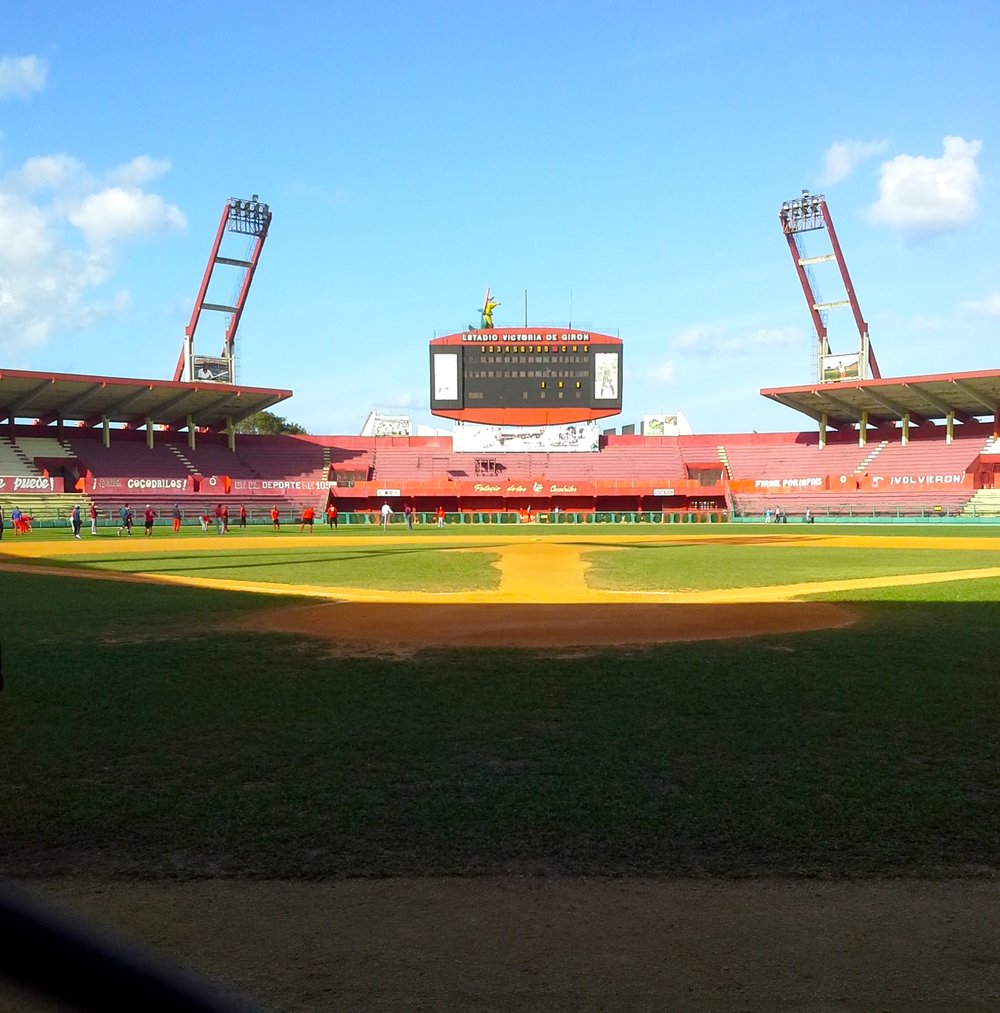 Come experience Cuban baseball at Estadio Victoria de Giron