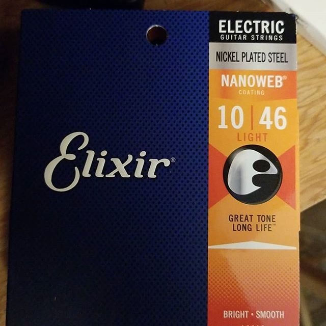 The only Electric Guitar Strings I use.