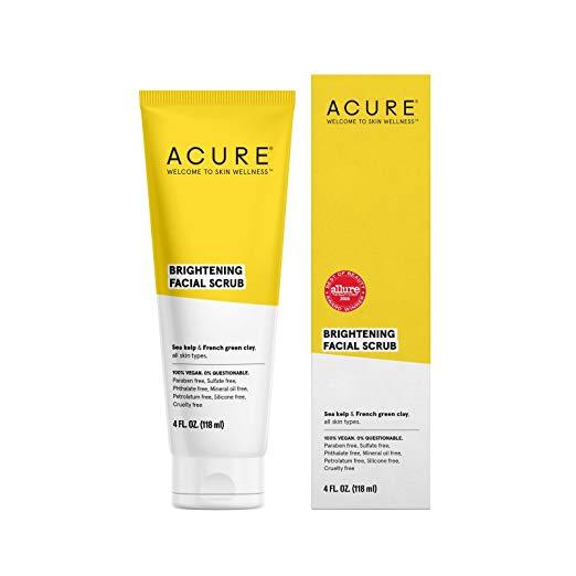 Acura Face Wash, $10