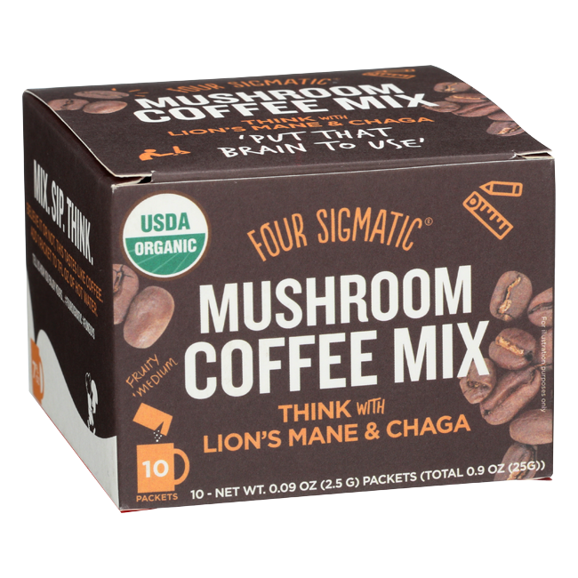 Mushroom Coffee, $11