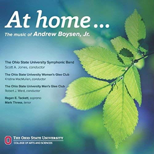 At home… - Premier Symphonic work, written by Andrew Boysen, Jr. and performed at The Ohio State University.Listen on Spotify