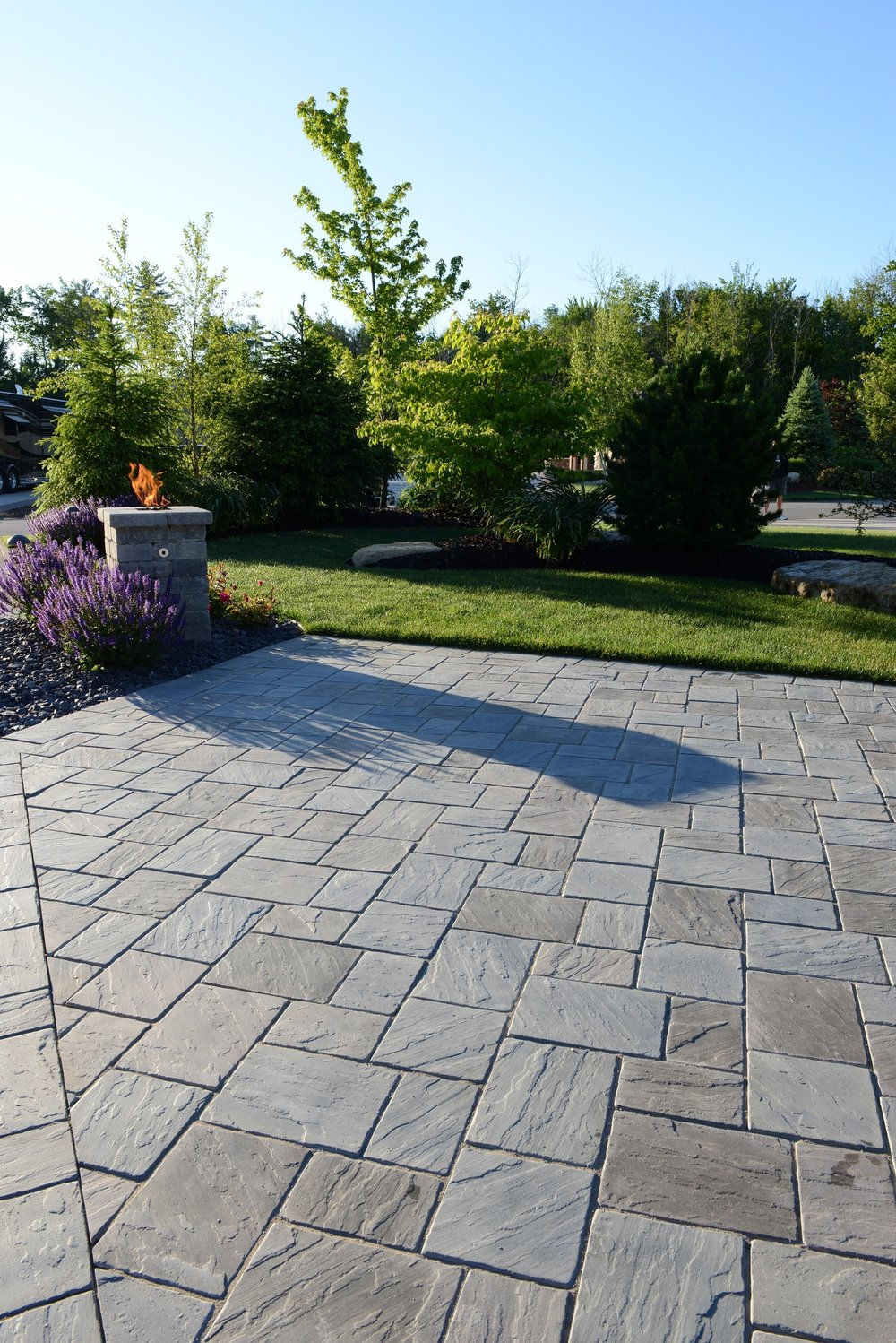Maintenance for patio pavers in Macomb MI