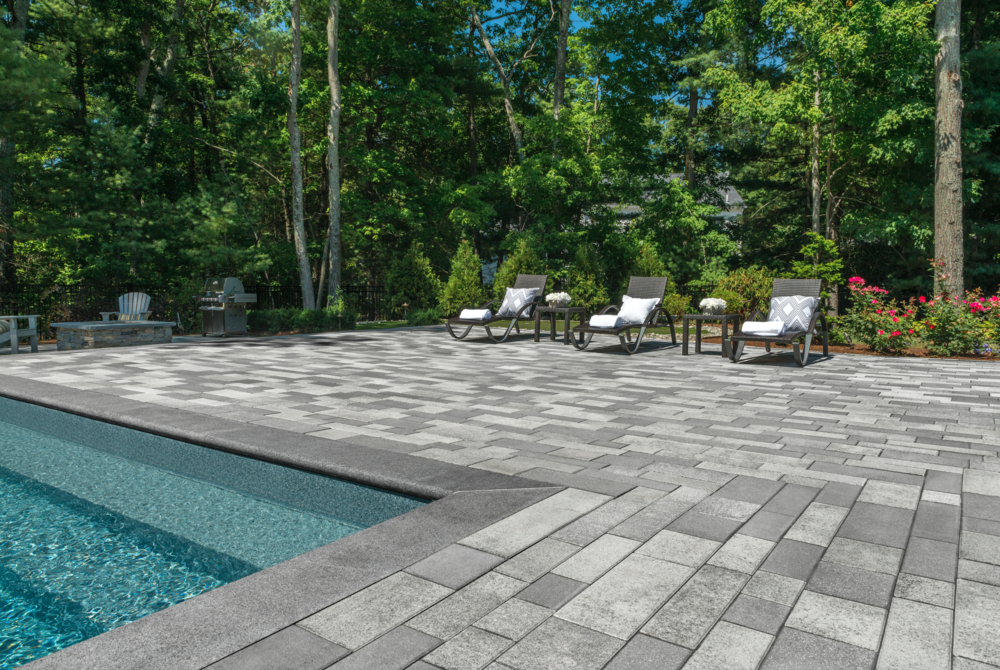 6 Unilock Patio Pavers for Modern Macomb, MI, Hardscapes