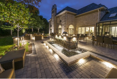Incorporating Seat Walls Into Your Paver Patio Design in Sterling Heights, MI