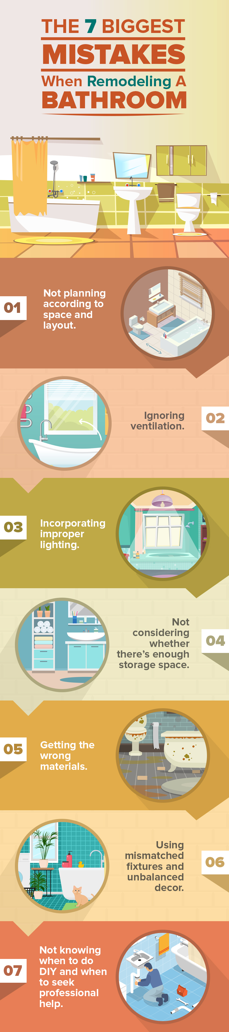 The 7 Worst Things To Do When Remodeling Your Bathroom