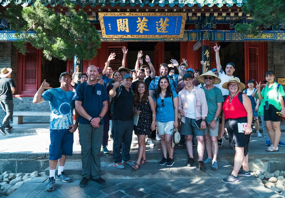Group Photo at Penglai