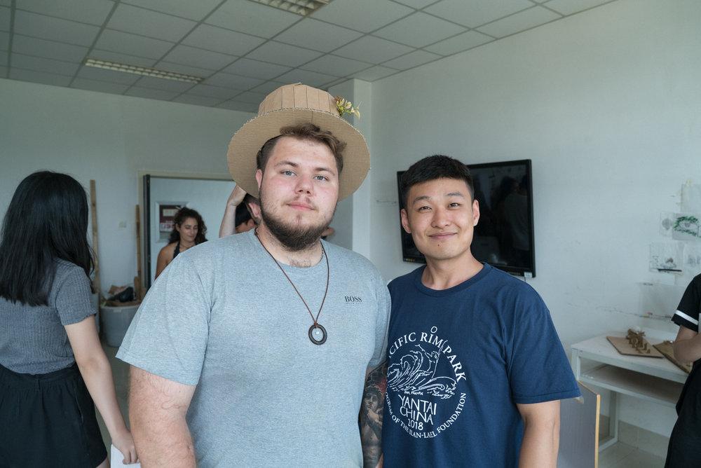 Markar and Mr. Korea!