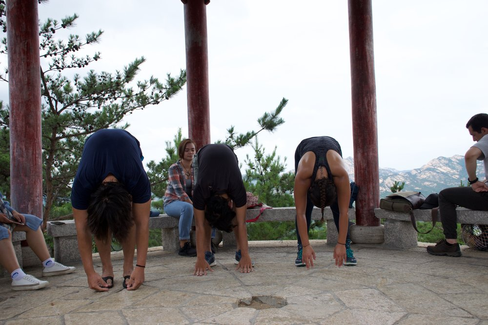 Yoga at The Birthplace of Taoism!