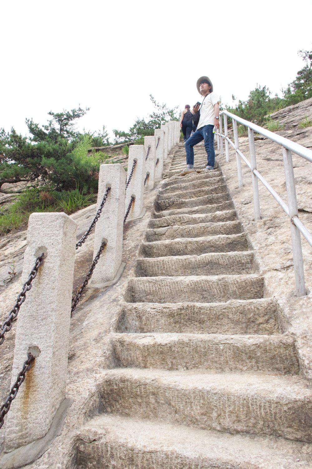 Jin Conquers the Waterfall Steps