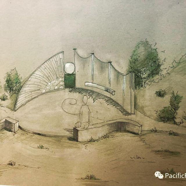It's #beautiful - the #design for #yantaipearl and the new @pacificrimpark  #architecture #pearl #internationalart #jameshubbell #yantaichina #yantailife #beauty @ilanlael @jameshubbellstudio
