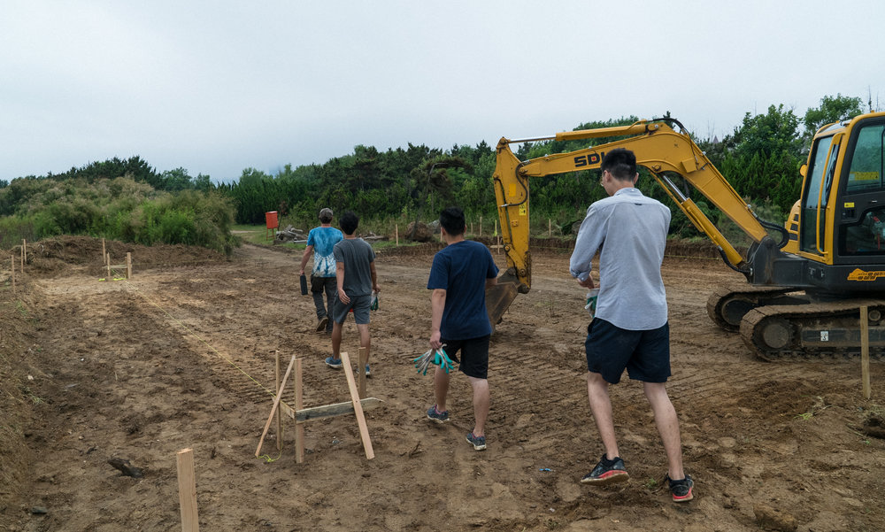First Day of Construction!