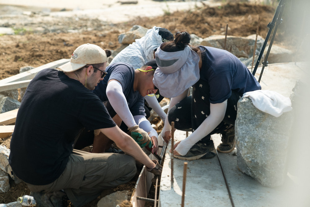 Shaping Concrete Together
