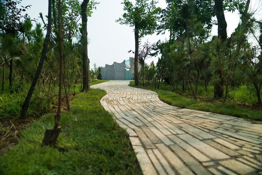One of Three Magic Pathways To Tides Park