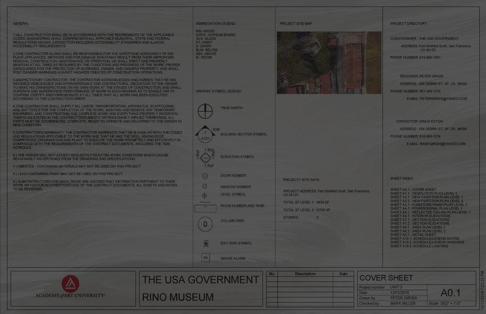 Construction Documents Peter Girgis