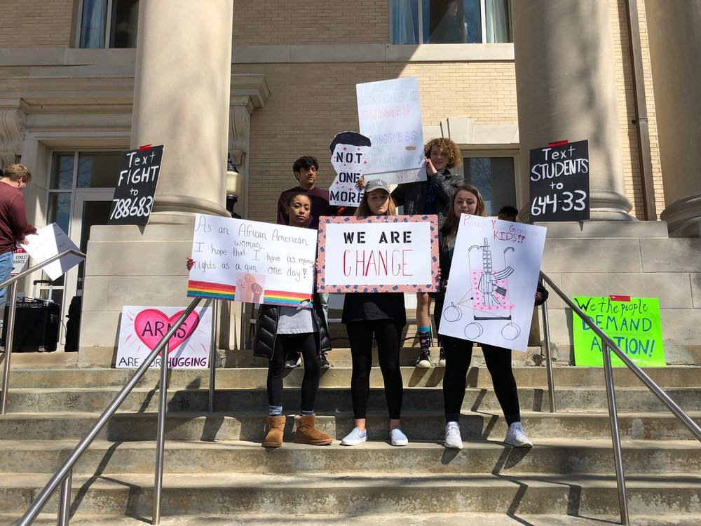 March For Our Lives — Pitt County Youth for Justice and Change