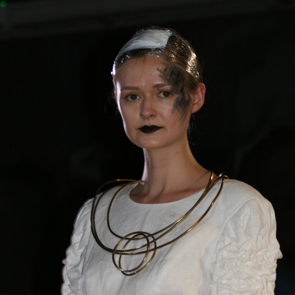 -  MARKING THE CENTENARY OF THE FIRST PERFORMANCE OF GUSTAV HOLST'S FAMOUS ORCHESTRAL WORK, SEVERAL OF POPPY'S JEWELLERY DESIGNS WERE INCLUDED IN A PLANETS THEMED FASHION SHOW THAT TOOK PLACE AT MORLEY COLLEGE AS PART OF THE MORLEY COLLEGE LONDON FESTIVAL OF ARTS AND CULTURE 2018FOR MORE INFORMATION: https://www.morleycollege.ac.uk/morley-matters/morley-festival/morley-festival-update-march-2018