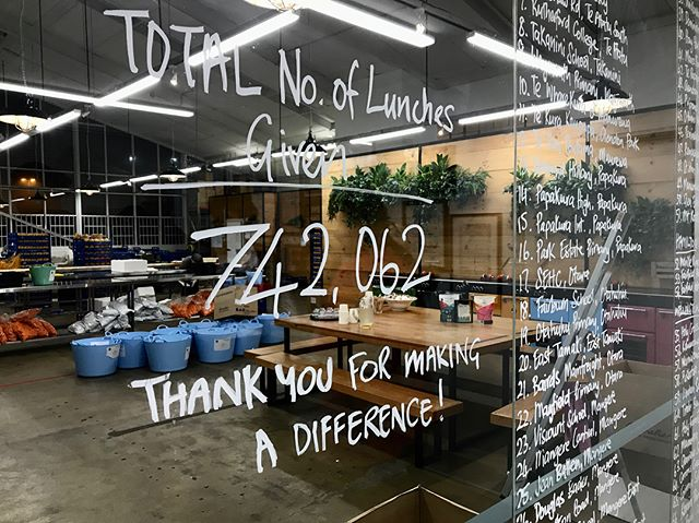 Another 2,220 kids got lunch today. Sometimes you have to pay it forward. Nice one Blue Frog for our breakfast, also. #phd3thinking #eatmylunchnz #bluefrogbreakfast