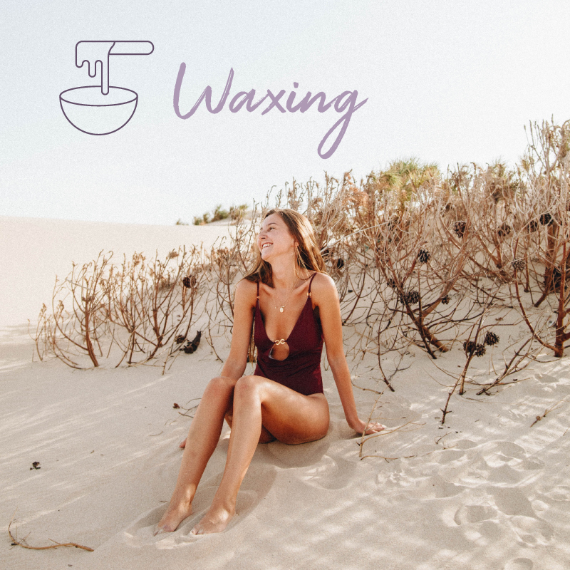 Waxing   Always be ready for the beach no matter what time of the year it is when you select one of our facial and body waxing options.