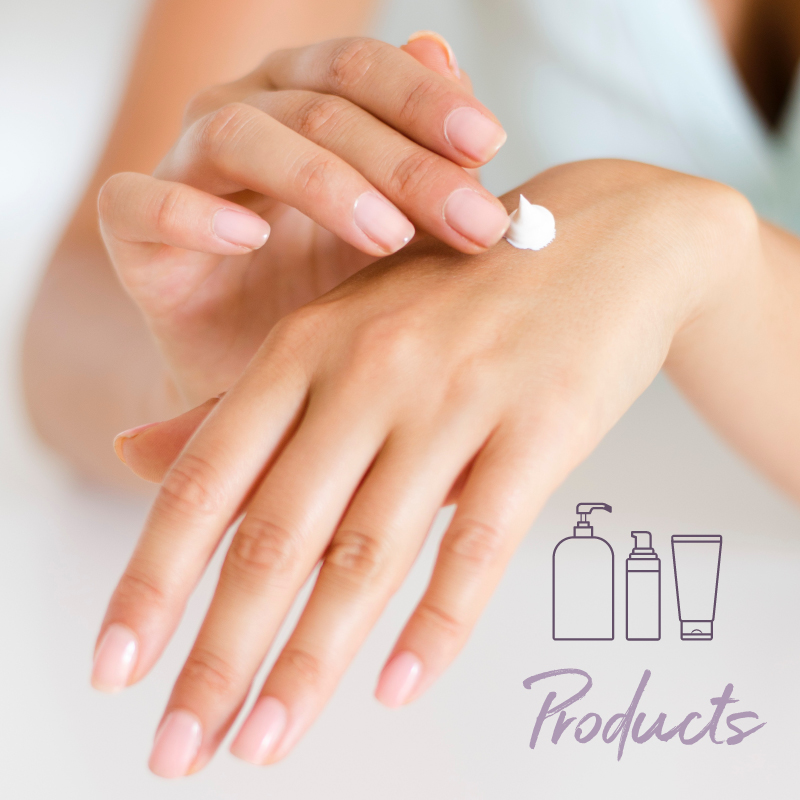 Shop Products   We feature only the best product lines for skincare. Set up a consultation to find the most effective products for you and to learn how to best apply them.